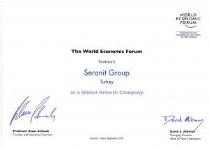 Seranit Group Certificate